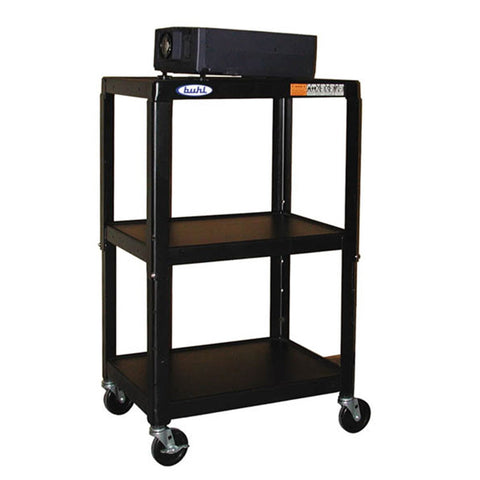 Adjustable Media Carts for Schools