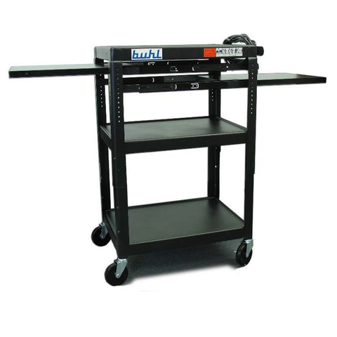 Height Adjustable Media Cart by Hamilton Buhl