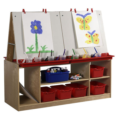 4 Station Art Easel for Children