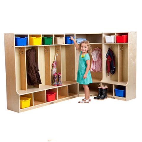 Birch Hardwood Locker Set by ECR4Kids