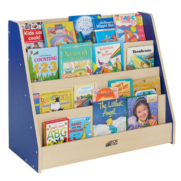 childrens book rack colorful essentials big book display stand at tomorrows 2169