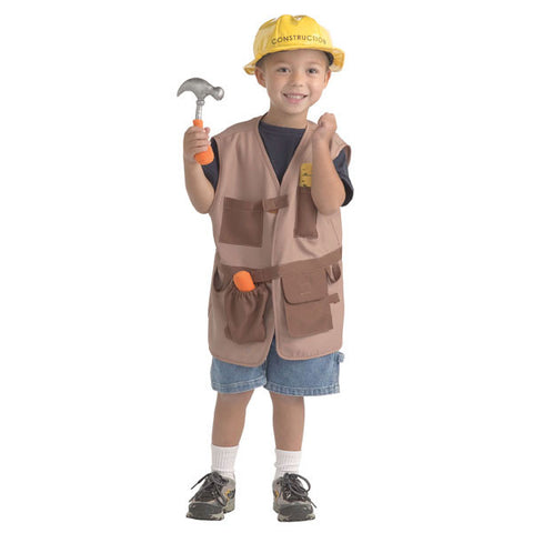 Construction Worker Dramatic Dress Up Outfit