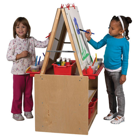 Double Sided Art Easel by ECR4Kids