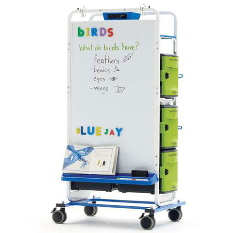 Tech Tub2 Dual Duty Teaching Easel - 32 Devices