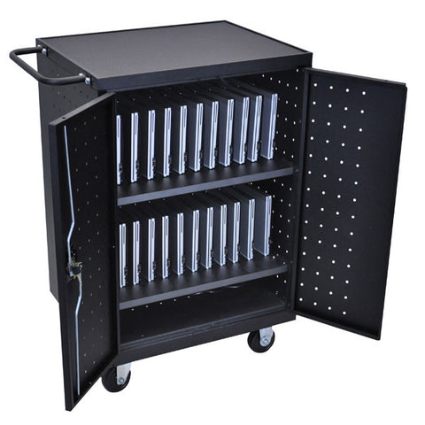 24 Device Computer Charging Cart