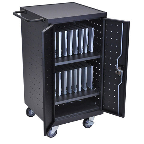 18 Device Computer Charging Cart