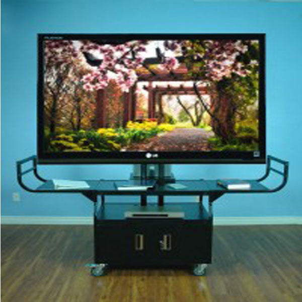 Metal TV Cart by Hamilton Buhl