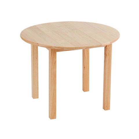 "Hardwood Table - 30"" Round"