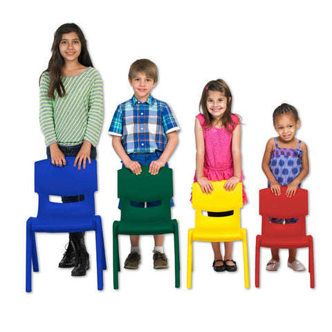 Resin Chairs for Classrooms by ECR4Kids