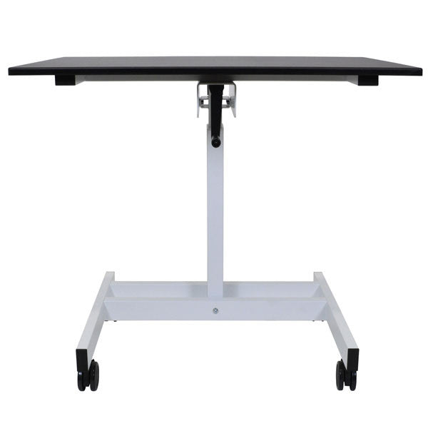 Single Column Crank Stand Up Desk