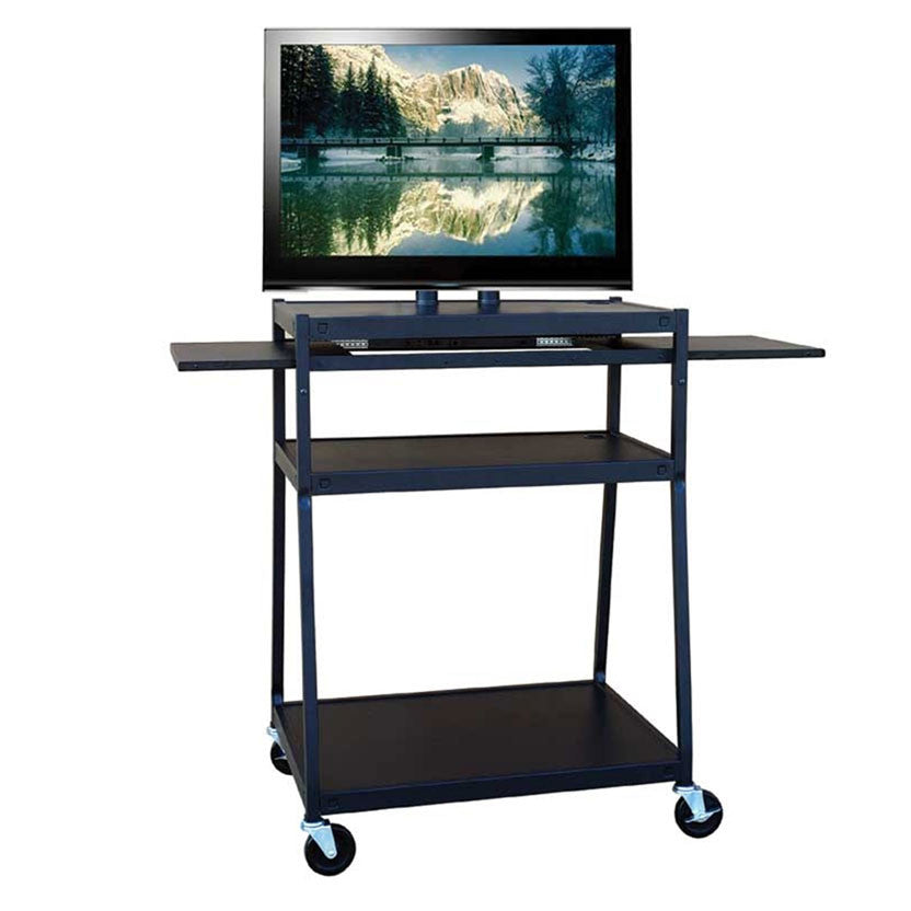 Hamilton Buhl TV Cart with Side Shelves