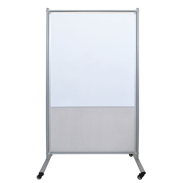 Luxor Whiteboard Room Dividers with Mesh Screen