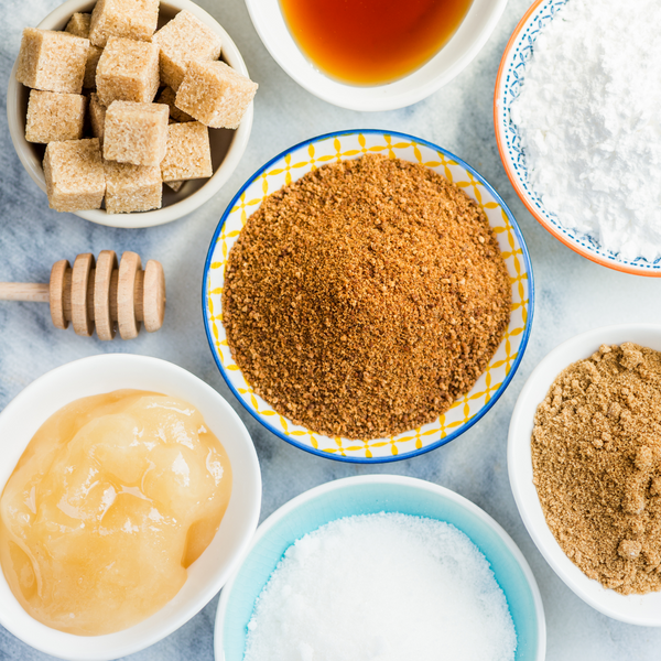 What is the difference between natural and artificial sweeteners and why do you use the sweeteners that you do?