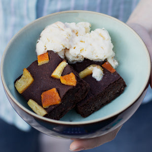 Chocolate Orange Brownies 8