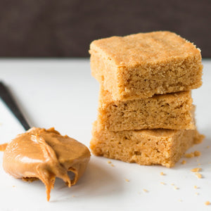 Browned Butter Peanut Blondie