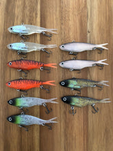 Load image into Gallery viewer, 10 x 115mm x 36g soft plastic vibe transam fishing lures- Barra, bass, jew, jack