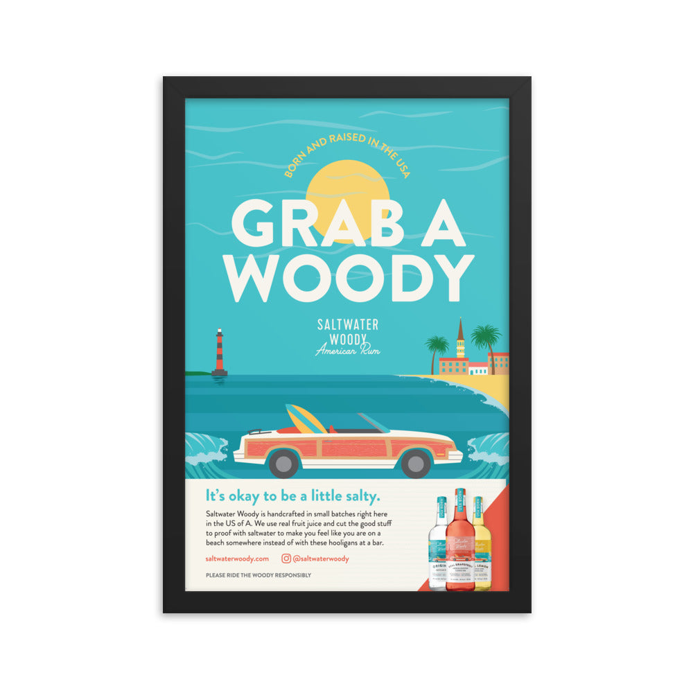 Grab a Woody Poster
