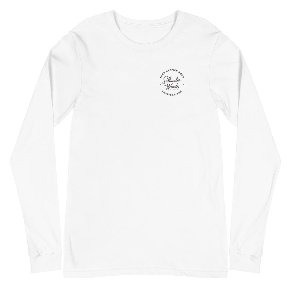 """Pray for Surf"" Long Sleeve Tee"