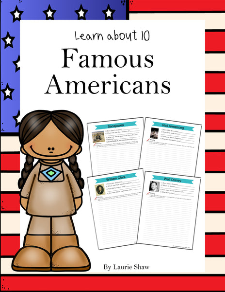 Famous Americans - Strategic Homeschooling And More