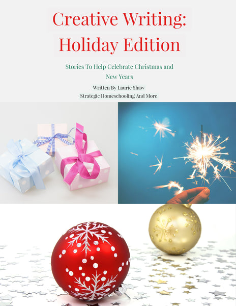 Story Story: Writing Made Fun Holiday Edition (With Story Starter) - Strategic Homeschooling And More