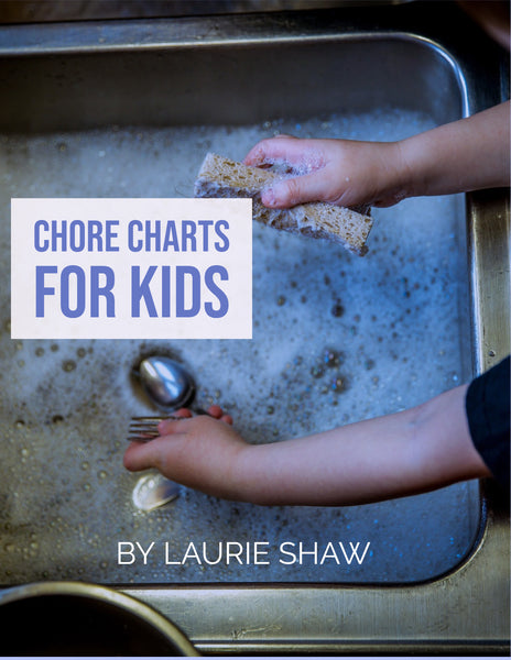 Chore Charts For Kids {18 Pages} - Strategic Homeschooling And More