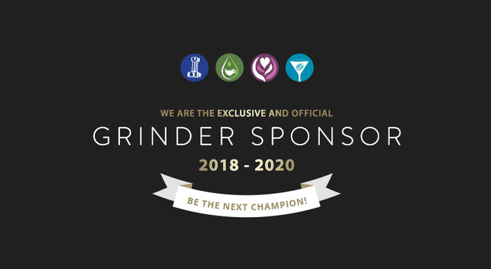 The WCE's official grinder sponsors 2018-2020