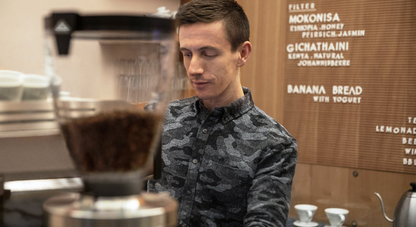 Barista Champion Ben Put becomes brand ambassador for Mahlkönig