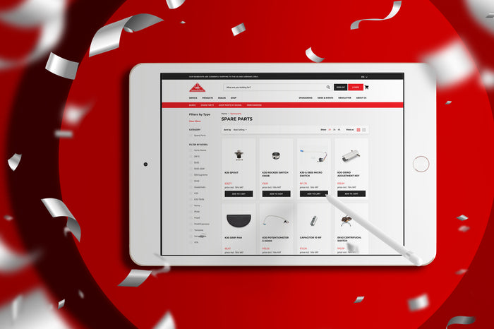 Mahlkönig welcomes German customers to the new webshop