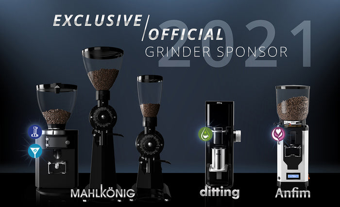 New Sponsor Grinders for the World Coffee Events 2021