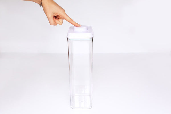 PURE Plastic Pushtop Storage Vessel 3200ml