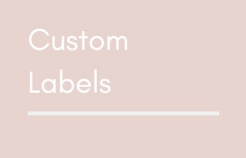 Custom Labels - Standard