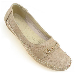 Women Covered Flats (33759T)