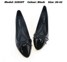 Load image into Gallery viewer, Women Glossy Flats (33950T)