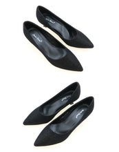 Load image into Gallery viewer, Women Formal Heels in Black Colour (34083T)