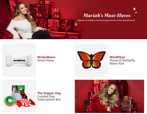 The Dapper Dog Box Mariah Carey's Holiday Must-Haves