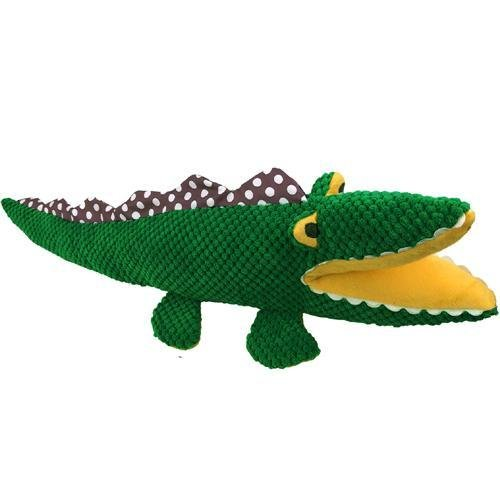 "15"" Crocodile Plush Pet Toy - Cute Friends by PetLou - Medium"
