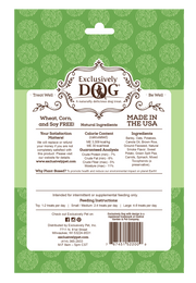 Exclusively Dog Boho Biscuits Plant-Based Burgers - The Dapper Dog Box