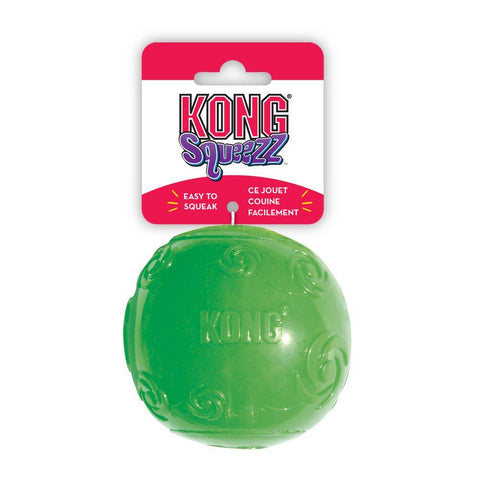 KONG Squeeze Ball Dog Toy (Colors Vary) - The Dapper Dog Box