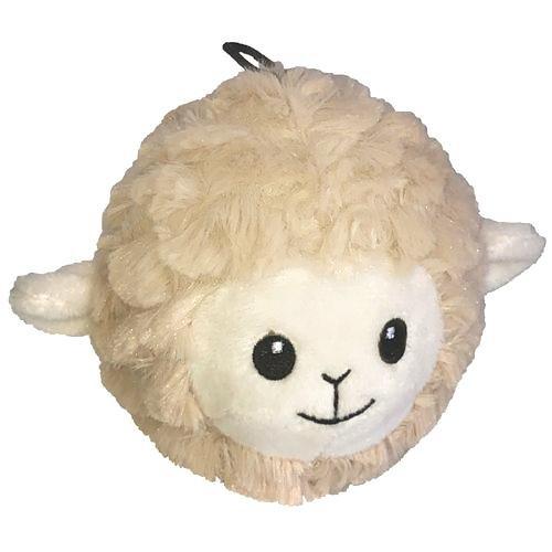 "Petlou 4"" EZ Squeaky Lamb Ball"