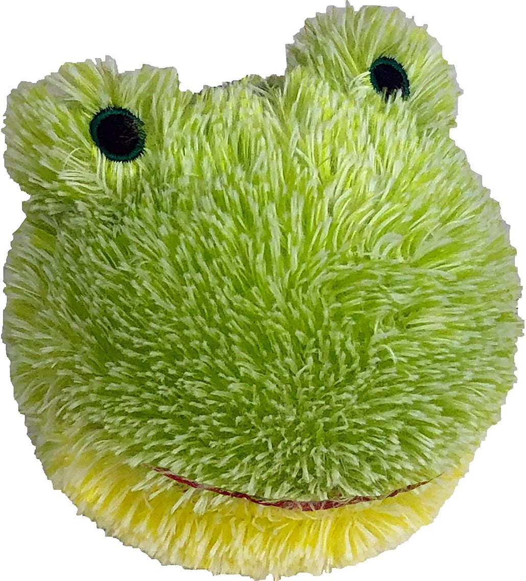 Petlou EZ Squeaky Frog Ball Plush Dog Toy