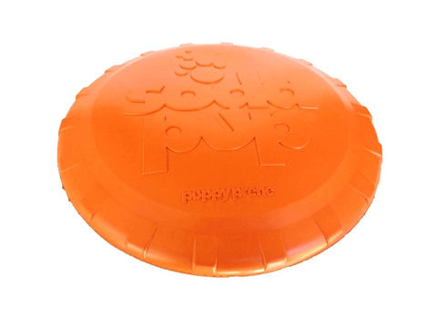 Sodapup Heavy 7 Inch Orange Frisbee - The Dapper Dog Box