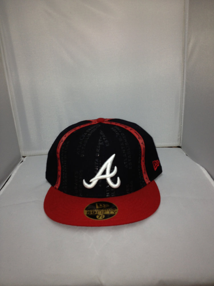 Atlanta Braves New Era Fitted NAVY/RED/WHITE 12
