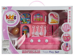 Dicheng Kitchen Set With Light Toddlers Style : 6607