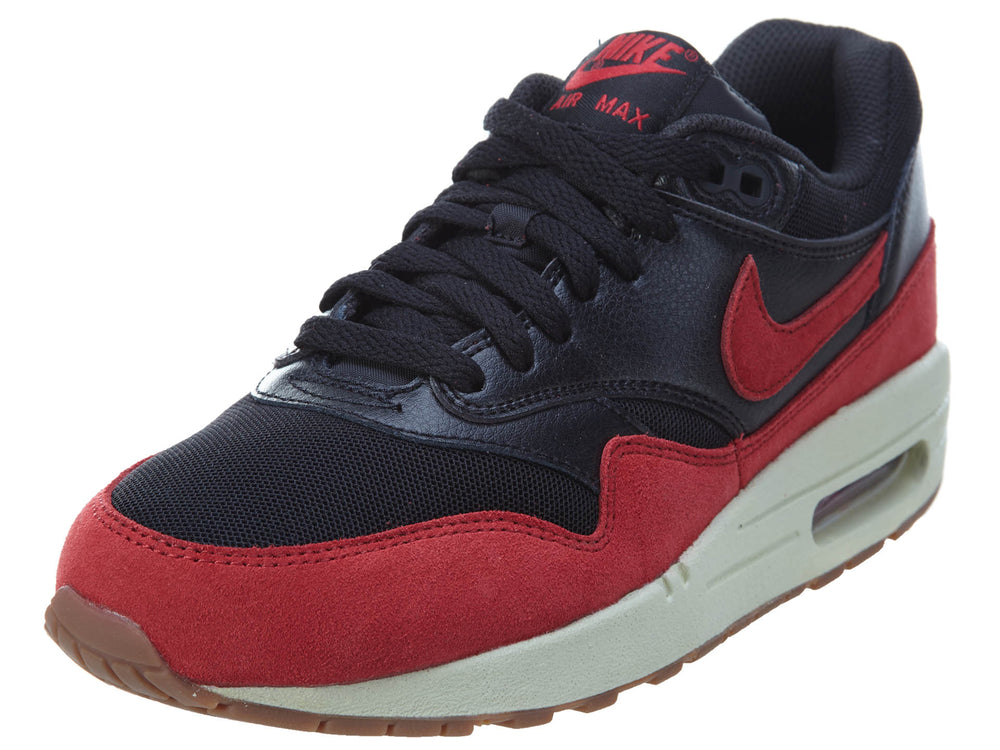 Air Max 1 Black Red Sail (GS)