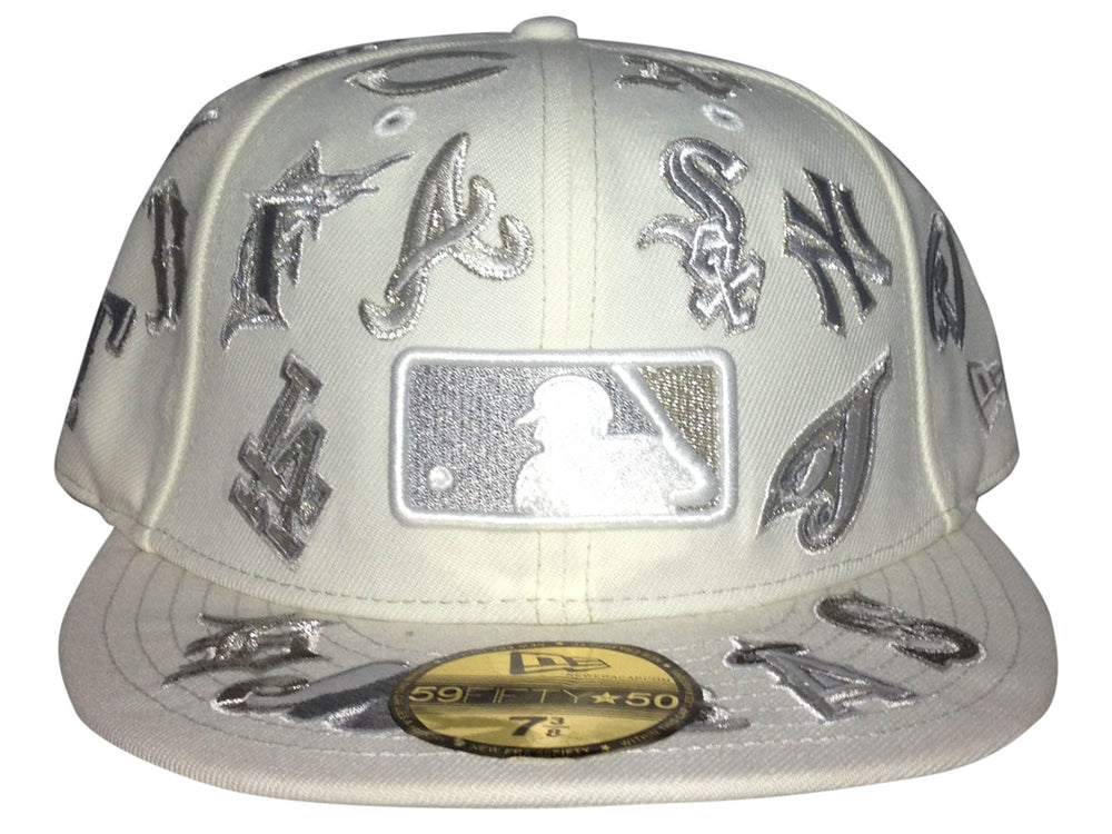 Mixed Teams New Era Fitted White/Silver 71