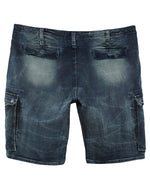 Cult Of Individuality  Cargo Denim Sweat Short Mens Style : 653-15a-990a