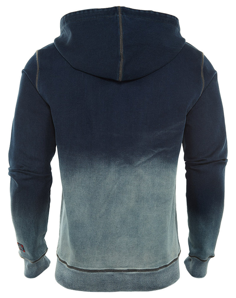 Cult Of Individuality  Zip Hoodie Denim Sweat  Mens Style : 651-15a-k10b