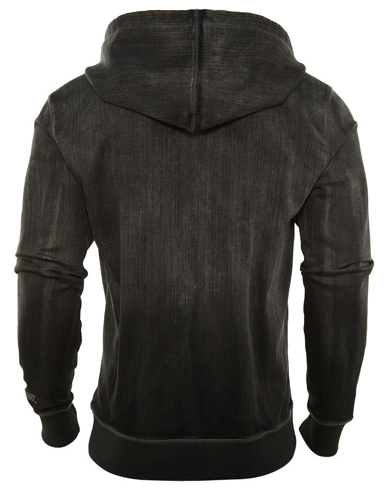 Cult Of Individuality  Zip Hoodie Denim Sweat Mens Style : 651-15a-k10c