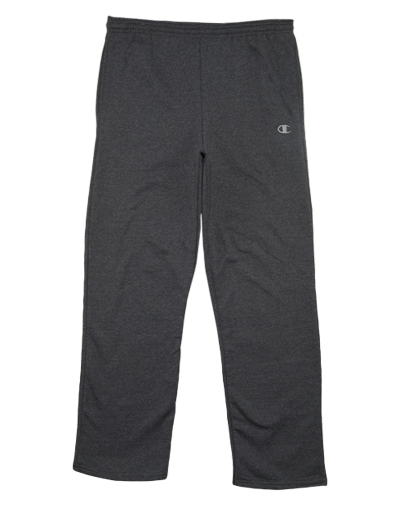 Champion Open Bottom Side Pockets Eco Fleece Sweatpants Mens Style : P2469