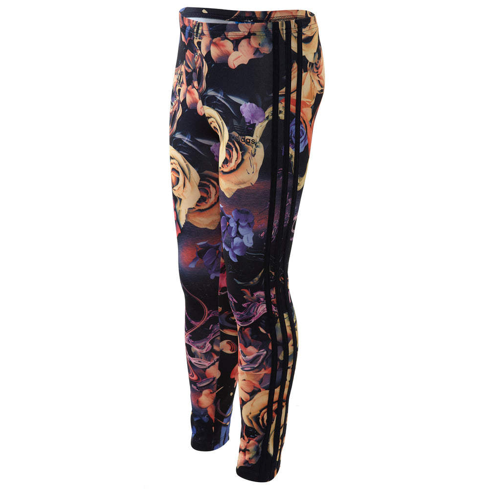 Adidas Rose Print Leggings Big Kids Style : Bq3981